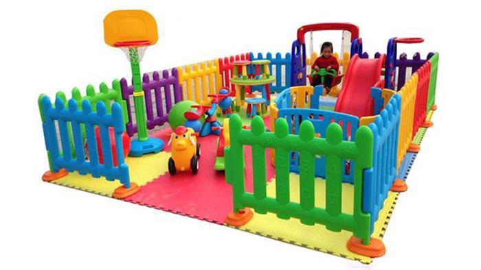 پارک بازی کودک در خانه