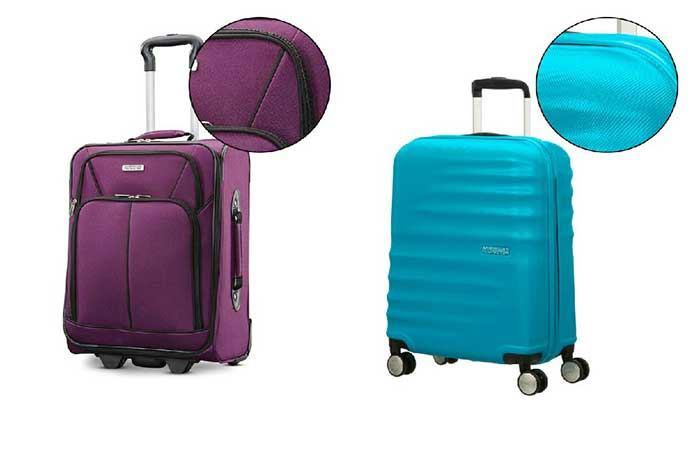 جنس بدنه چمدان مسافرتی خوب