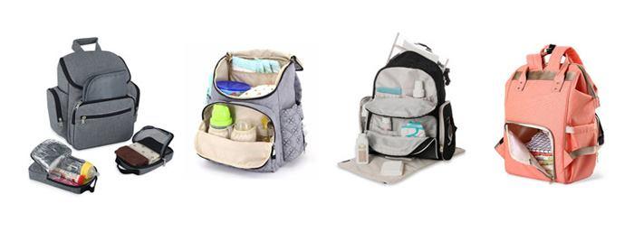 انواه مختلف ساک و کیف مخصوص لوازم نوزاد
