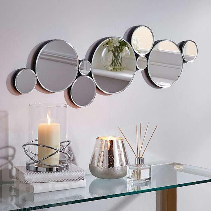 آینه گرد دکوری