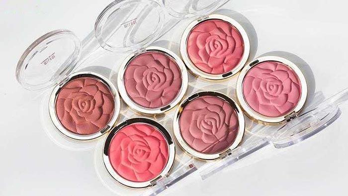 blush skin tone rose