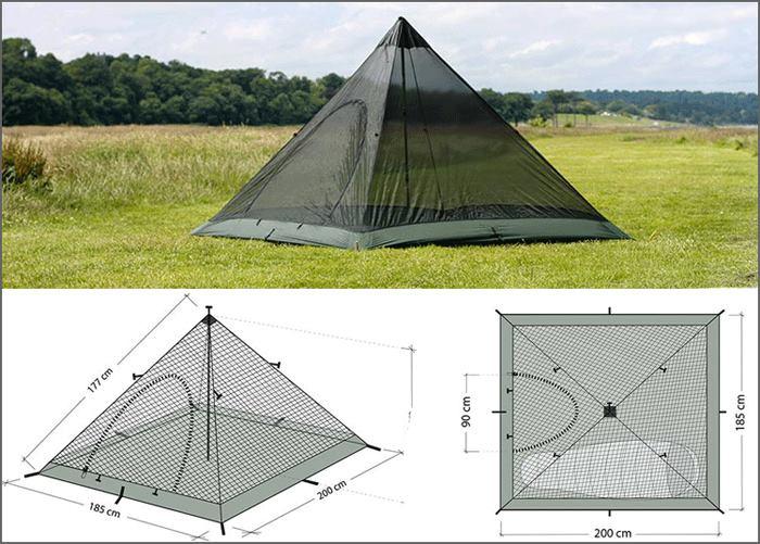 مدل های مختلف چادر هرمی
