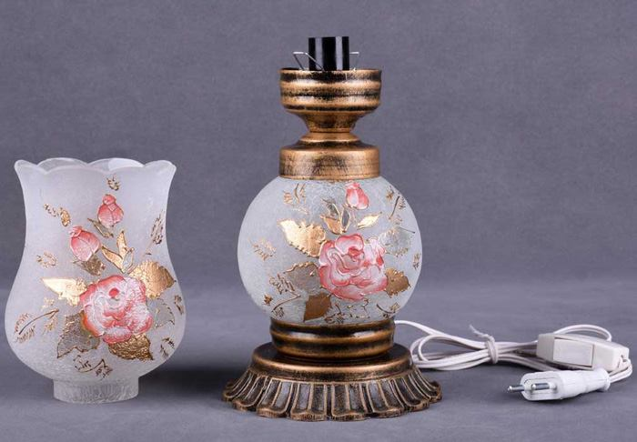 زیباترین مدلهای چراغ رومیزی لانتری