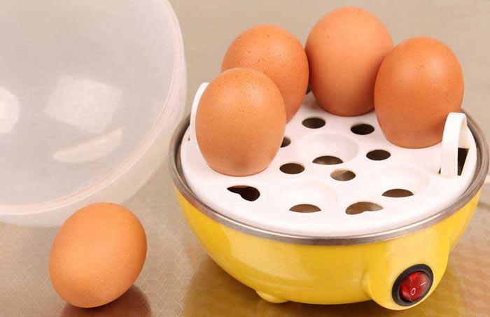 نحوه استفاده از دستگاه تخم مرغ پز