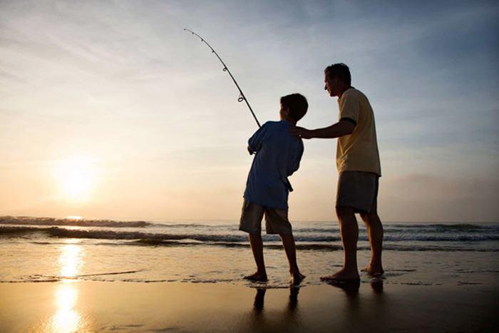 چوب ماهیگیری ساحلی