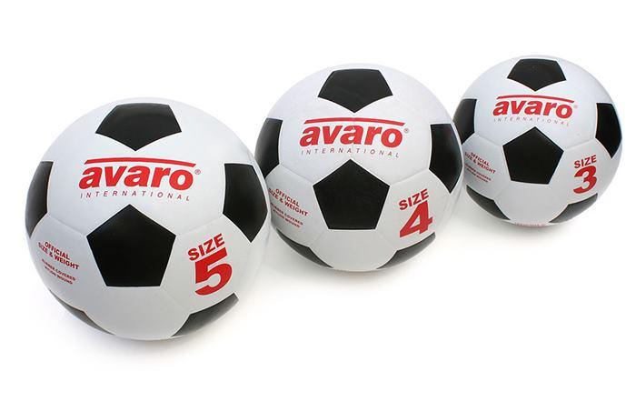 انواع سایز توپ فوتبال