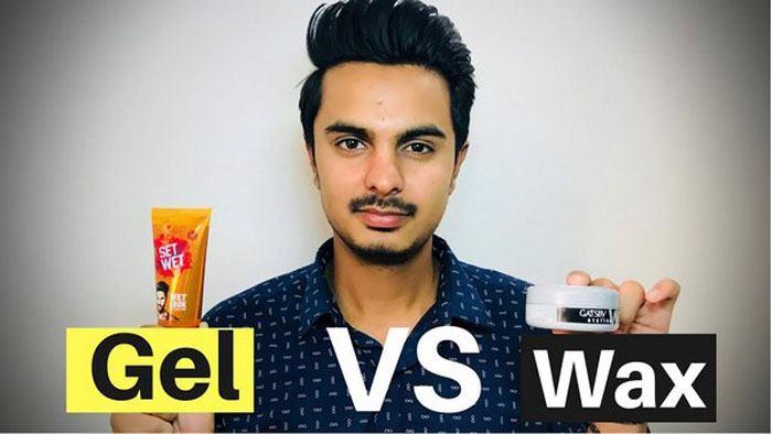 تفاوت بین ژل و واکس مو