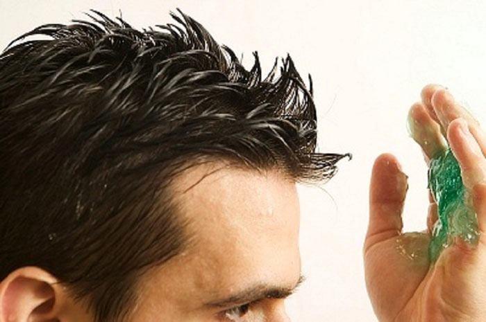 حالت دادن موی سر آقایان با ژل