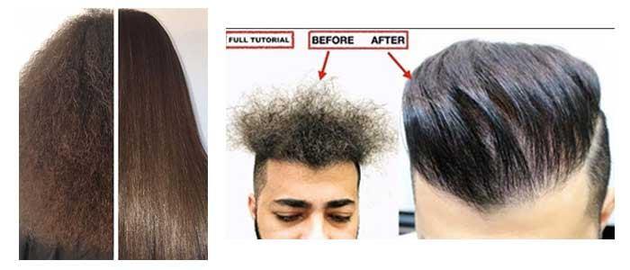 ترمیم مو با کراتینه کردن مو