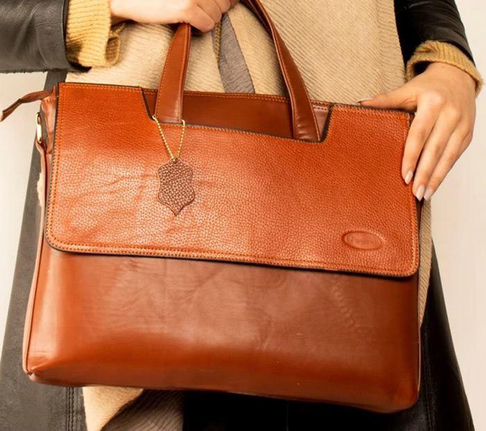 انواع مختلف کیف چرم زنانه