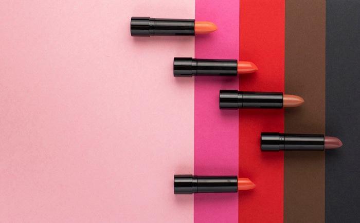 رنگ های مختلف رژ لب