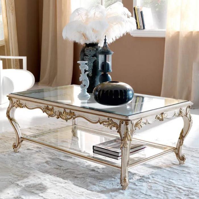 میز جلو مبلی کلاسیک