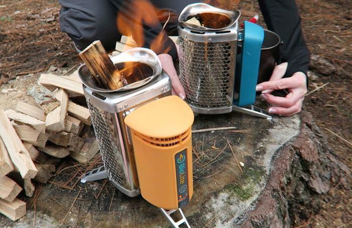 اجاق گاز چوب سوز