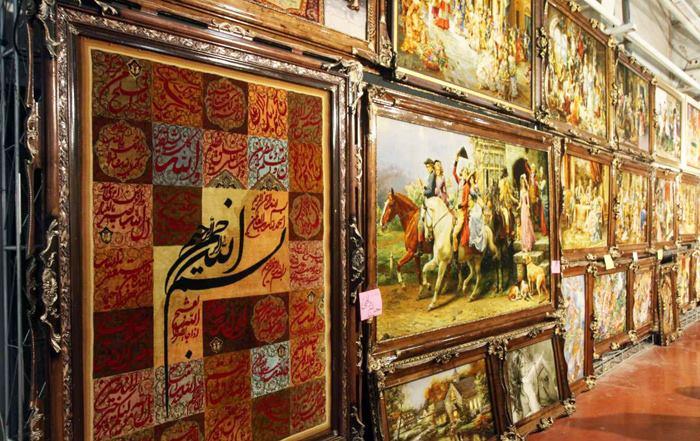 بهترین طرح های تابلو فرش ایرانی دستباف