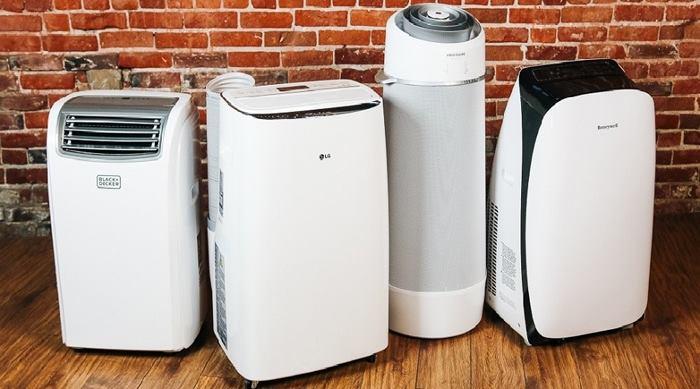 انواع مختلف کولر گازی پرتابل خانگی