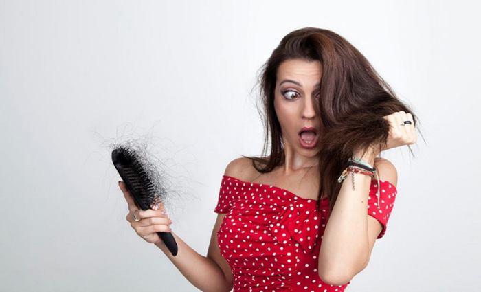 ریزش موی سر و شامو ضد ریزش مو