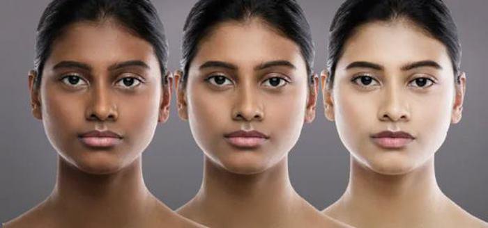 تغییر رنگ پوست با کرم روشن کننده پوست