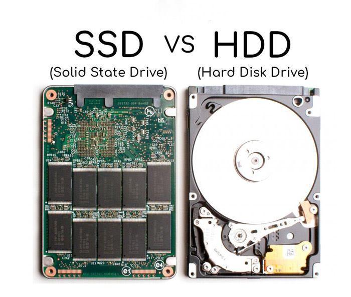 تفاوت بیت هارد SSD و HHD