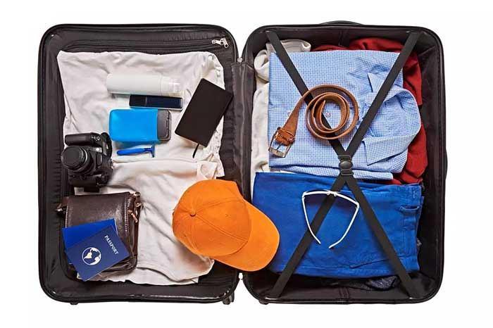 تسمه های چمدان