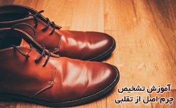 چگونه کفش چرم اصل را از کفش چرم تقلبی و مصنوعی تشخیص دهیم؟