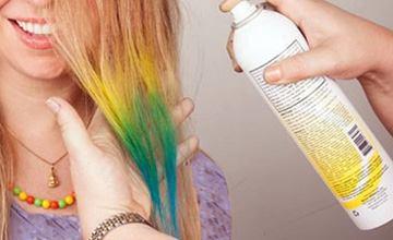 اسپری رنگ مو چیست و چه مزایا و معایبی برای موی سر دارد