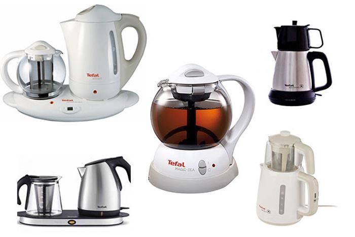 انواع مختلف چای ساز و راهنمای خرید